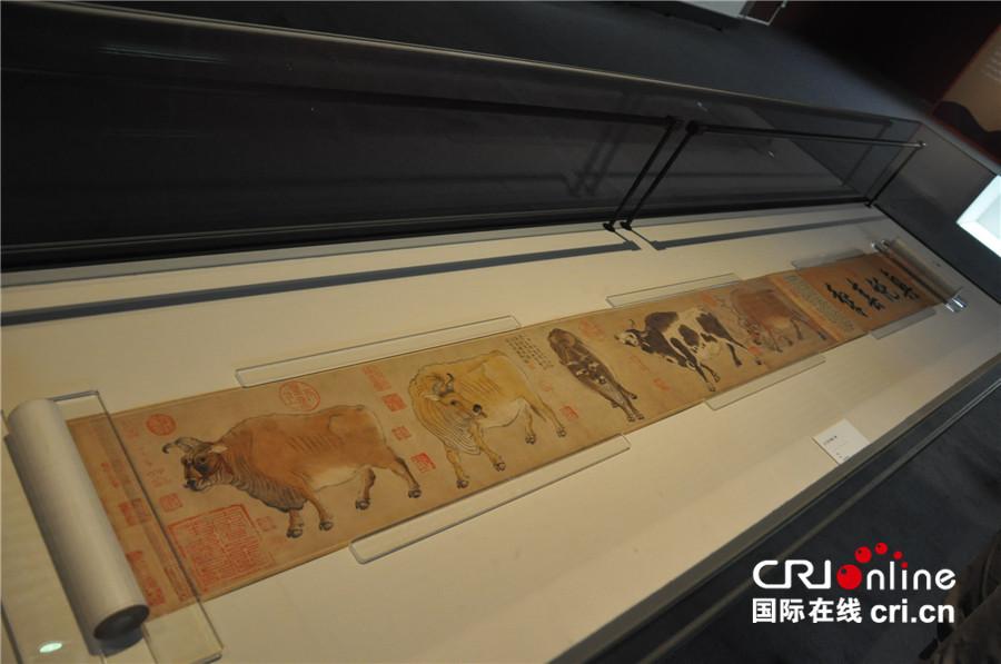五牛图、圆明园青铜虎鎣等珍贵回归文物在京展出