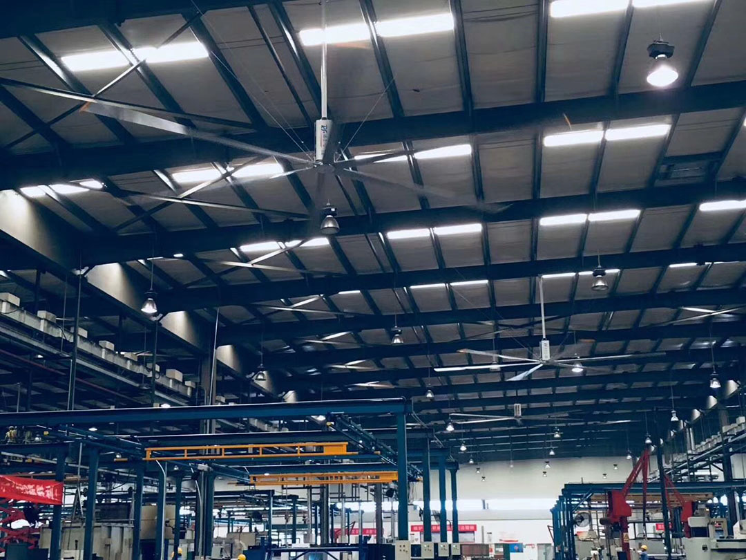 厂房降温如何选择工业大风扇?