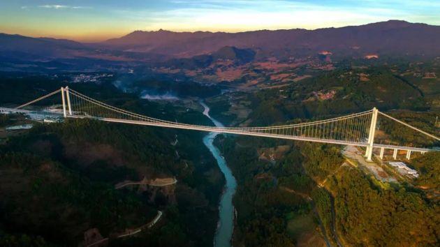 超级工程在云南!一桥架南北 天堑变通途