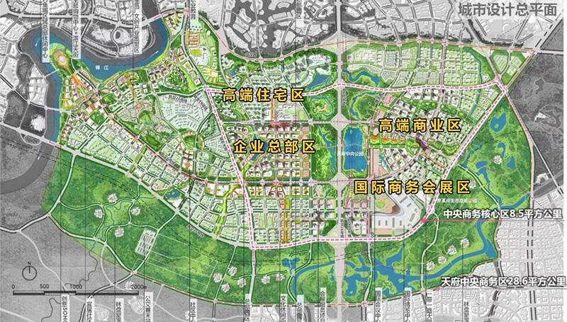 天府新区泡小规划图