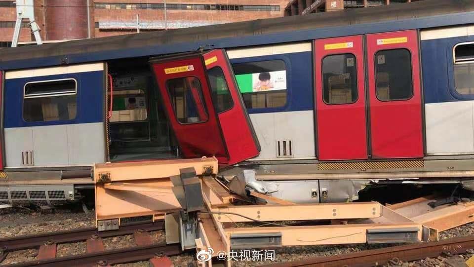 今早港铁一列车出轨:暂无人员受伤、原因待查