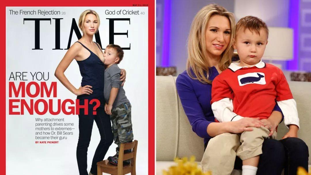 兒子5歲了,26歲的加州明星辣媽堅持母乳喂養