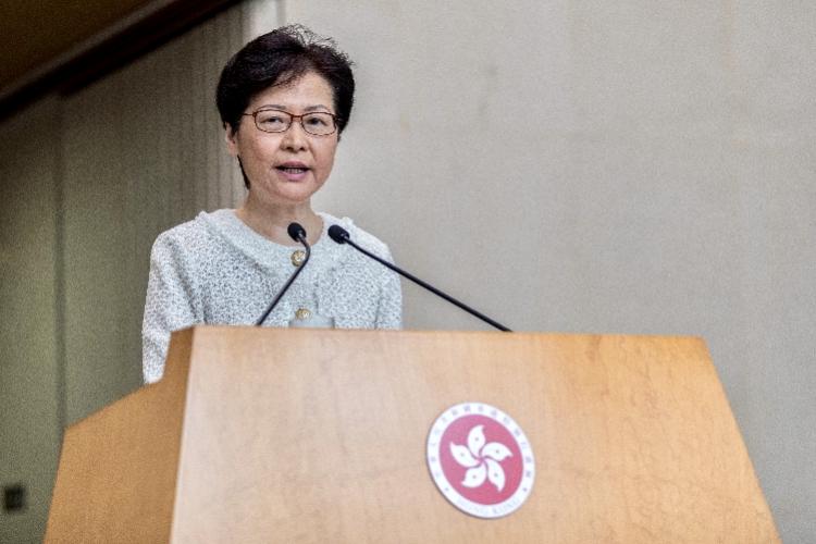 香港特首林郑月娥:下周进社区与市民对话,进行开放议题讨论