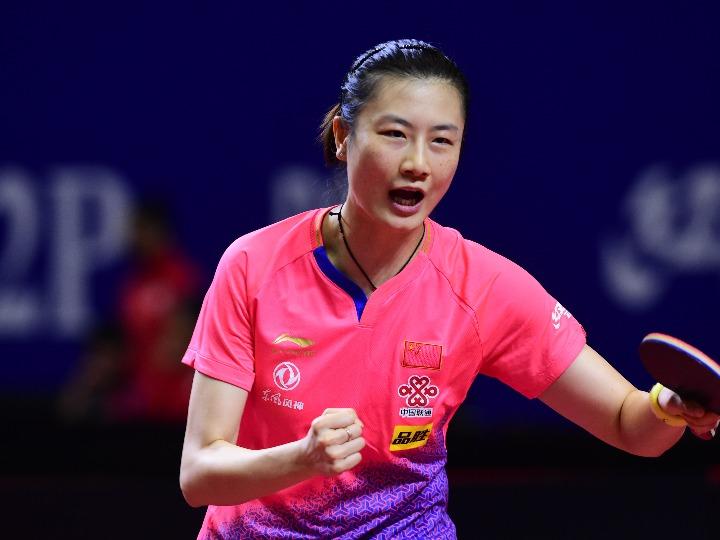 乒乓球亚锦赛中国女团晋级决赛