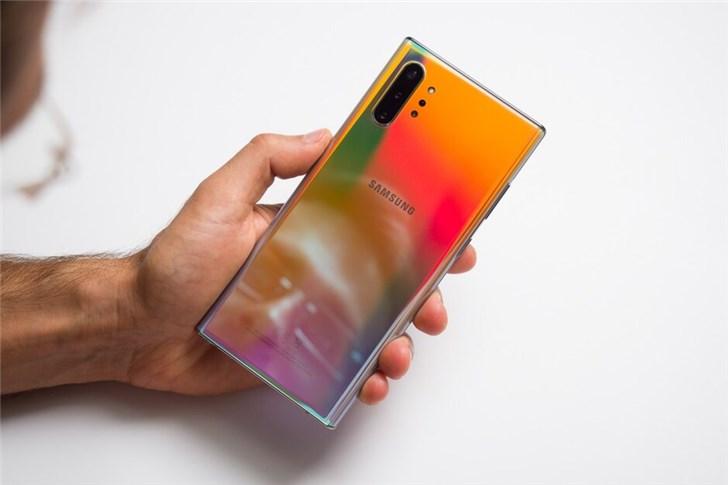 三星Note10系列在韩大卖,25天卖出100万部