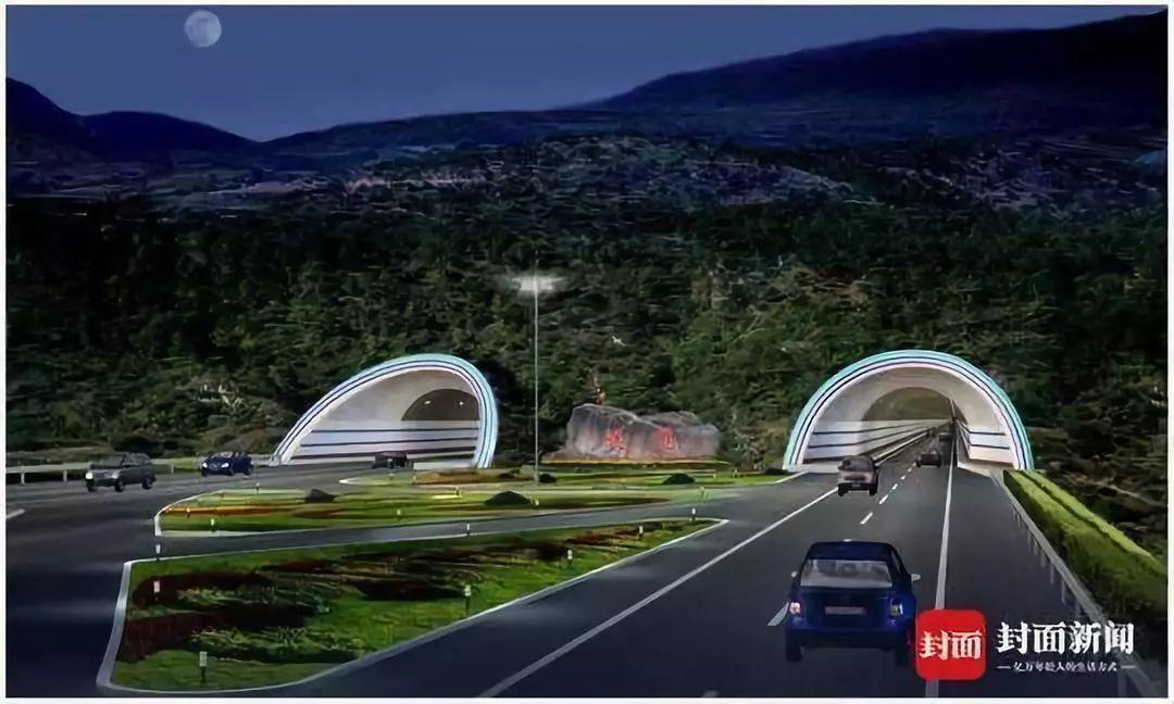 连接青海 四川 新疆 久马高速最新设计图曝光