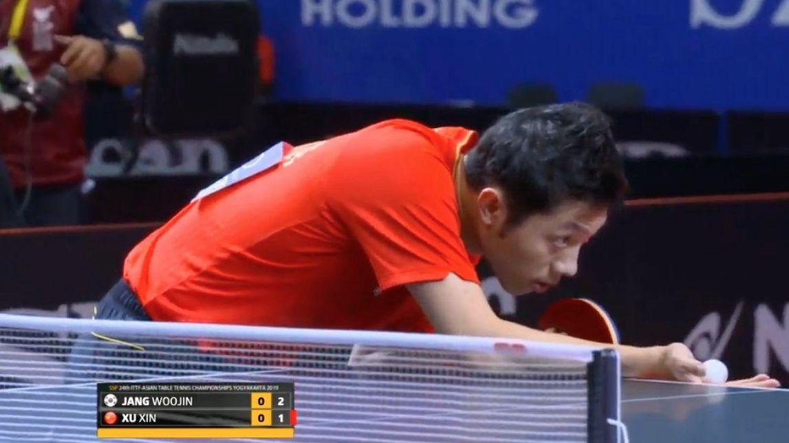 亚乒赛中国男团横扫韩国夺冠三场3-0锁定奥运会资格