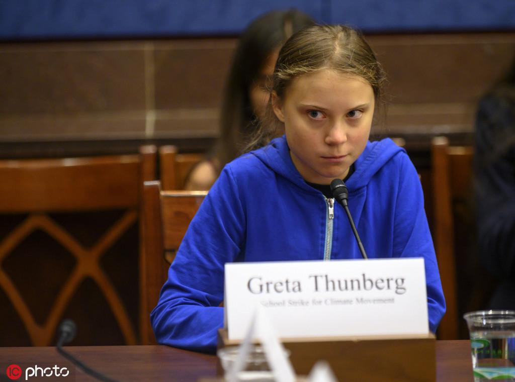 被议员表扬却不屑,16岁瑞典女孩:你们该听科学家的