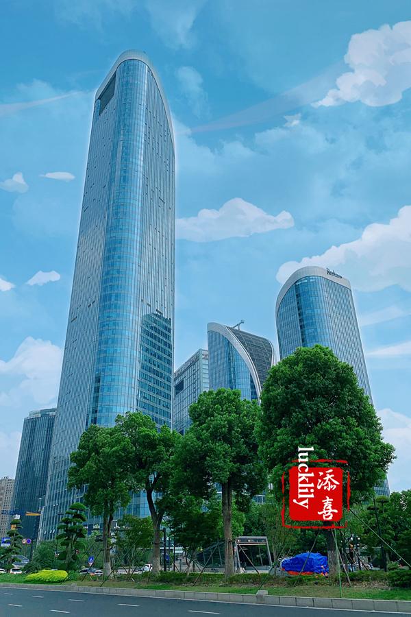 【添喜美食旅行记】杭州首家丽筠酒店,华丽绽放于钱塘江畔最高的建筑博地中心