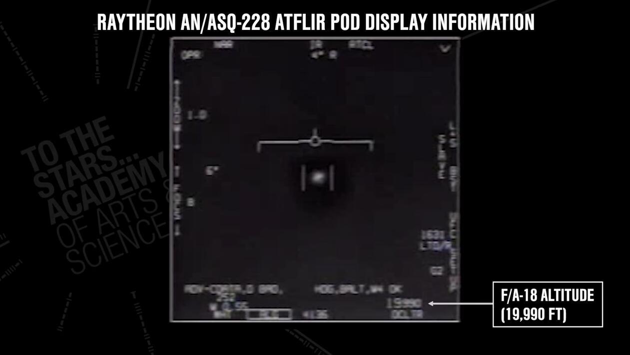 三段视频泄露后,美军首度承认:真拍到UFO了