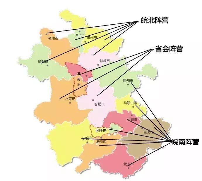 皖南gdp_中国最复杂的省份 南北文化差异大,北部人少,GDP却有7800亿