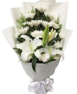 祭奠朋友母亲逝去送什么花