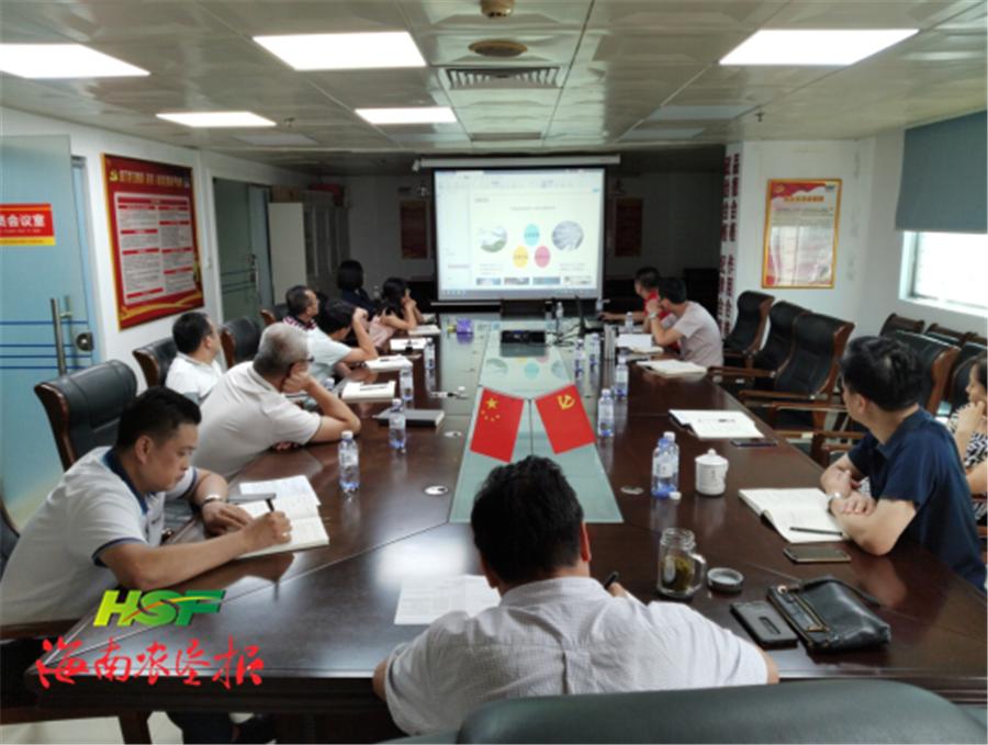 海垦茶业集团学习贯彻海垦集团茶产业整合专题会议精神