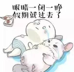 看了眼明年中秋国庆的日期后……网友:心塞了