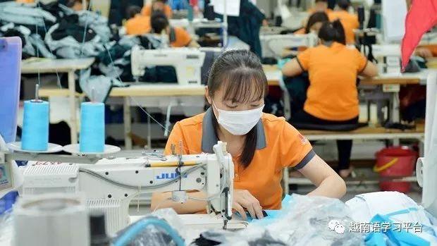 越南是环球10大纺织品装束出口国之一