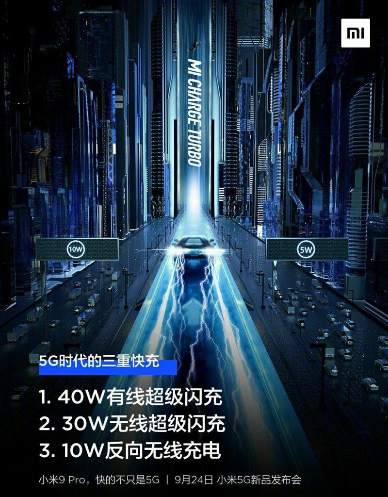 """小米官方宣布""""三重快充""""时代来临,有线40W和无线30W功率"""