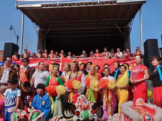 美国华人华侨联合总会与大芝加哥华侨华人联合会共同庆祝中美友谊日