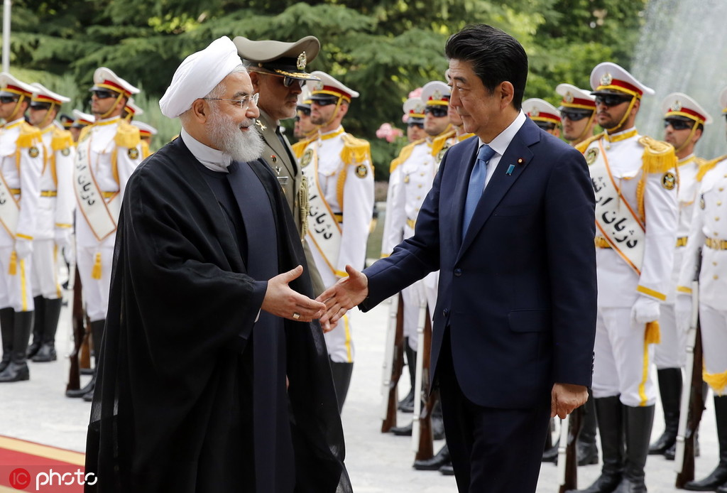 安倍:要在纽约与伊朗总统对话