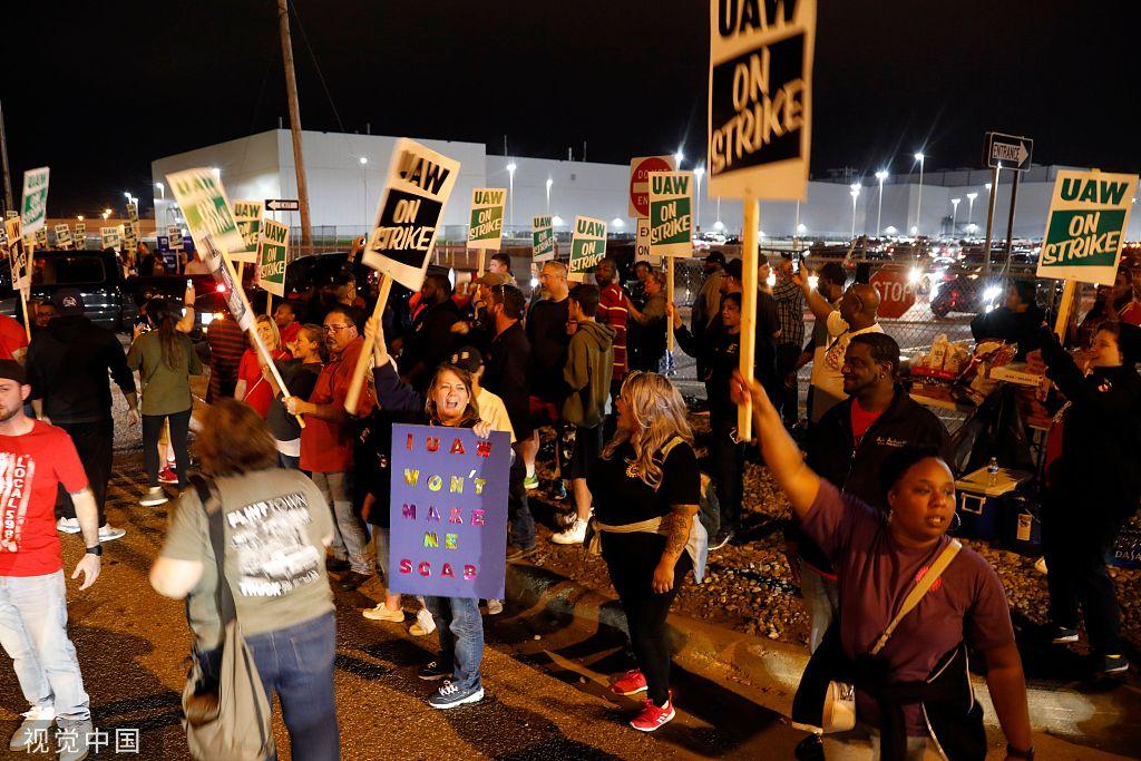 通用汽车全美大罢工日损数亿,特朗普为何两难无法发声?