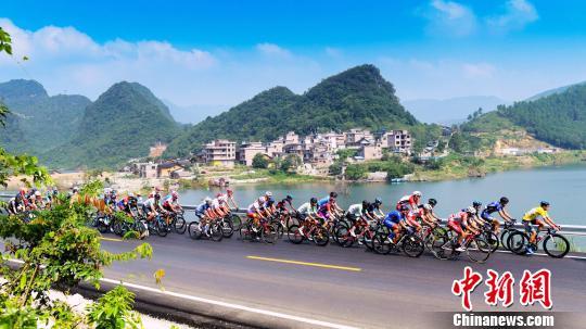 2019环中国第二阶段:本法托再夺赛段冠军
