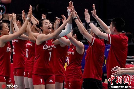 女排世界杯:中国队3:0多米尼加 迎开局四连胜