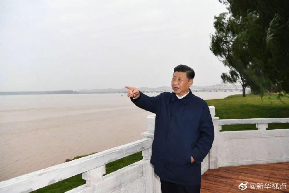 习近平在郑州考察制造业企业发展和黄河生态保护_沈伟