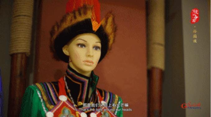 """<b>""""可爱的中国""""之裕固族:把对生活的热爱融入民族服饰里</b>"""