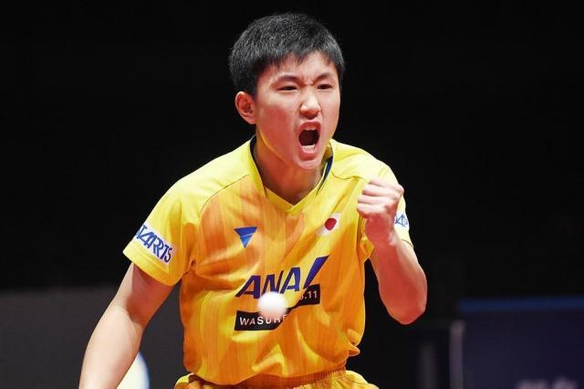国乒再胜日本!世界第一狂轰3