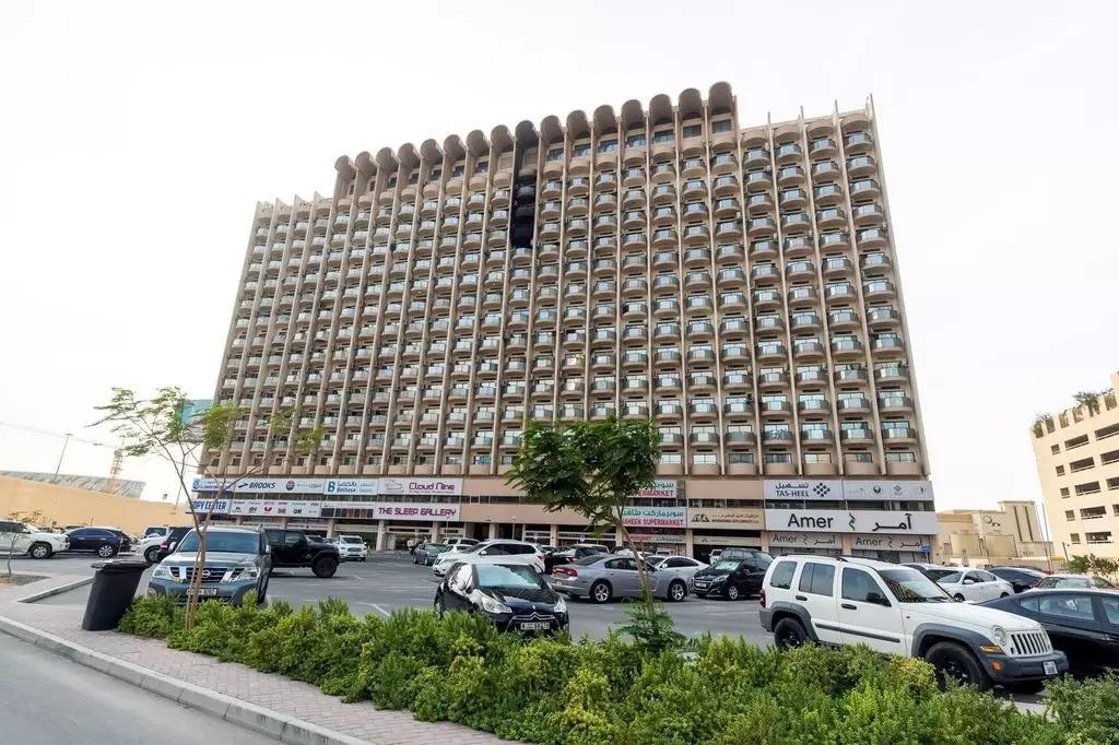 迪拜的标志性建筑谢赫拉希德大厦发生火灾!
