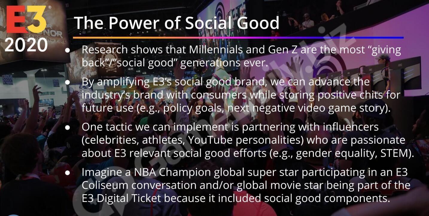 E3电子游戏展或变为媒体、名人和网红主题展