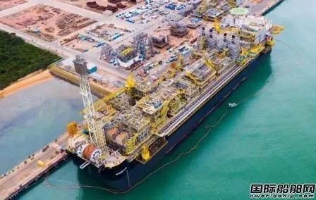 胜科海事巴西船厂建造首艘FPSO交付投入运营