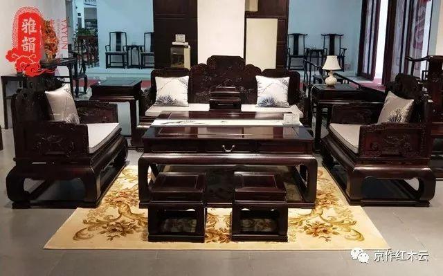 普通人和富贵人家的距离就差这一套红木沙发!