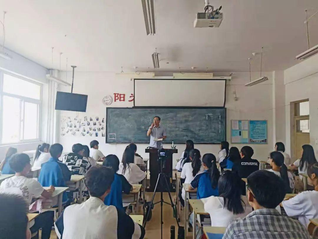 """【多彩社团】烟台电视台著名主持人林方指导""""朗诵课堂图片"""