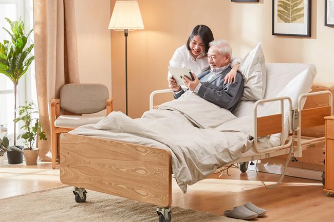 多功能家用老人护理床设计
