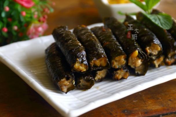 鲜香美味的海苔小肉卷,简单营养又美味,比香肠还要好吃