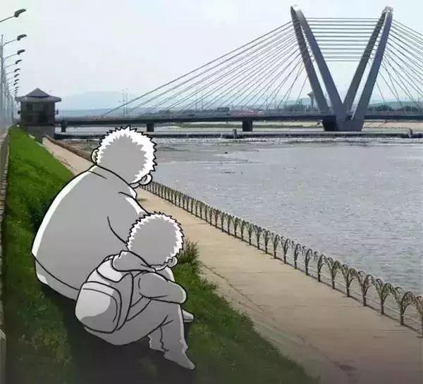 这幅父子漫画,刷爆了朋友圈,引人深思