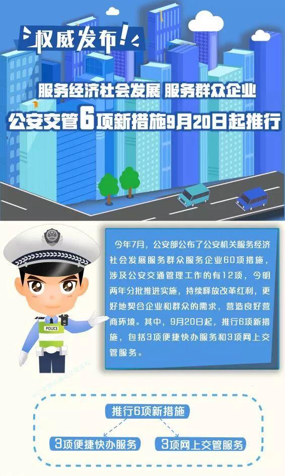 购车上牌一站办结!公安交管6项新措施9月20日起推行