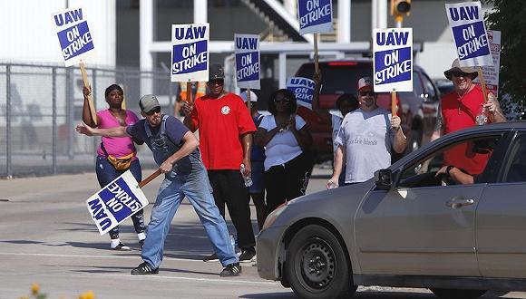 美汽车工人大年夜罢工持续,70亿美元投入不被接收通用很掉望