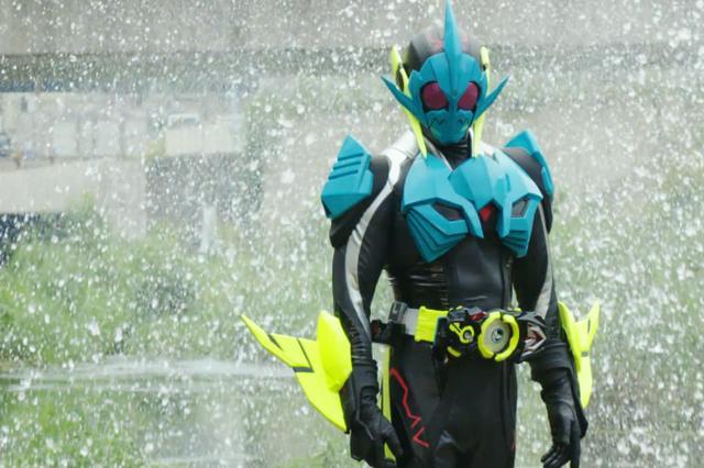假面骑士鲨鱼系骑士四天王 天生不溶于水 01便当的命运决定了