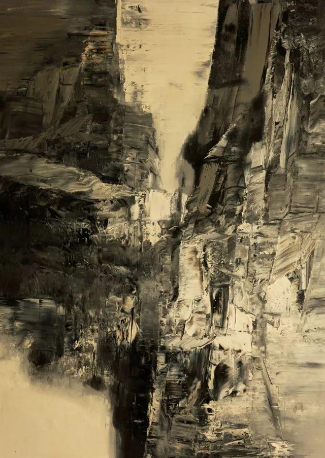 白羽平油画写生及作品欣赏,包含霞关老街
