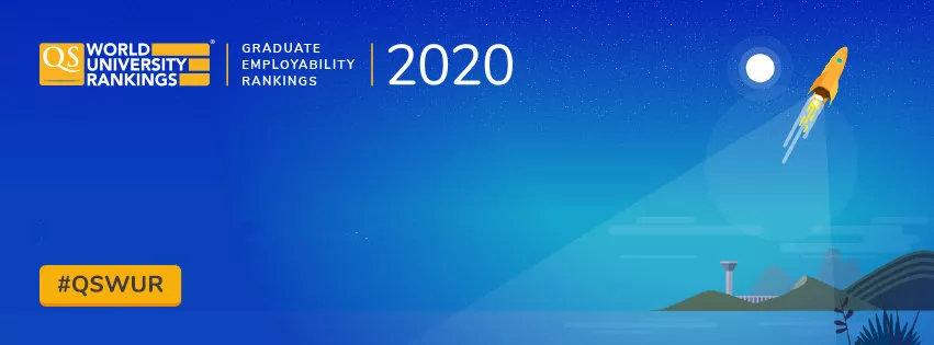 2020 QS世界大学毕业生就业力排名发布!麻省理工学院第一,清华大学第六