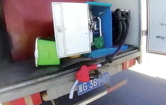 """胆大包天!张家口一男子私改货车变""""移动加油站""""被抓"""