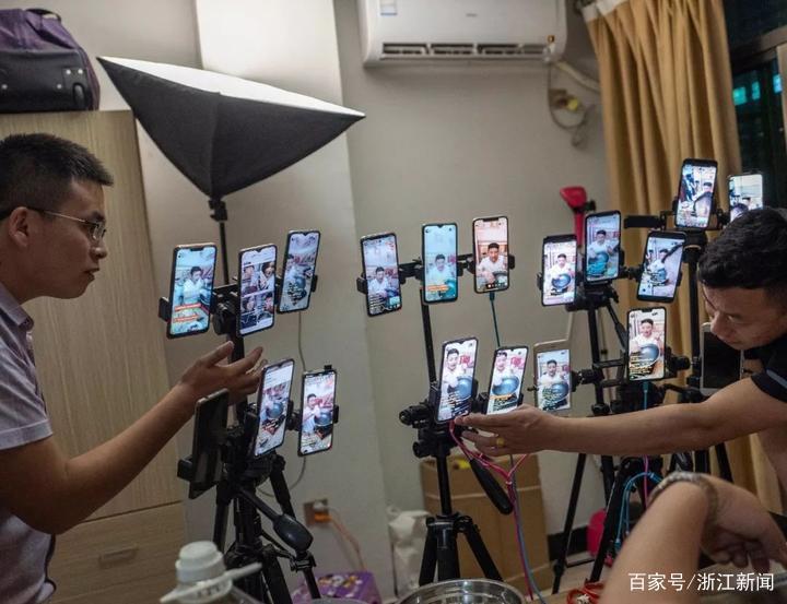 有人1个月流水上亿 2000多名网红主播活跃义乌北下朱村