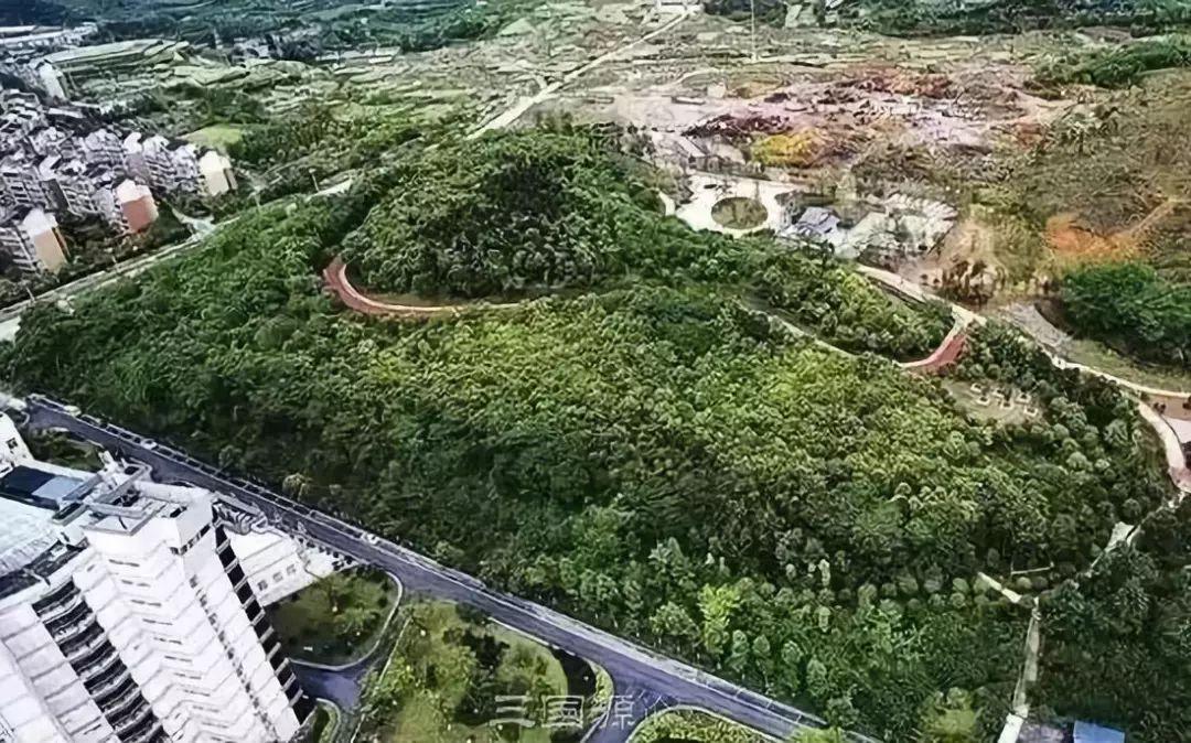 南充市荆溪片区规划图