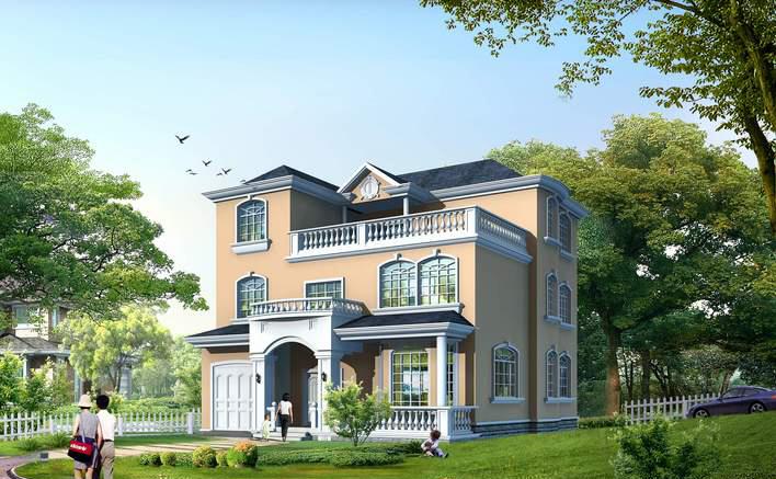 四居别墅设计图