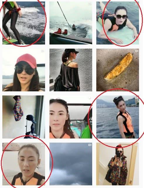 张柏芝连续4天坚持出海滑水,39岁的她的身体能吃得消吗?