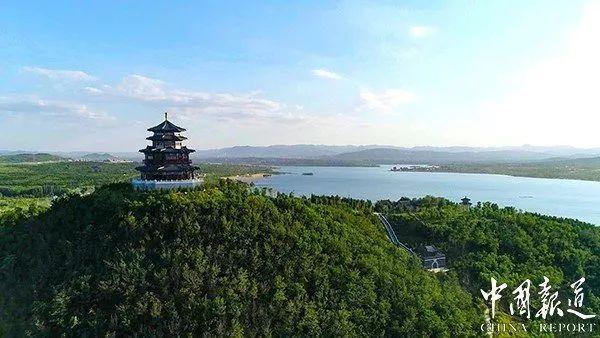 环文昌湖 半程马拉松赛 山水交融秀美家园的硕果