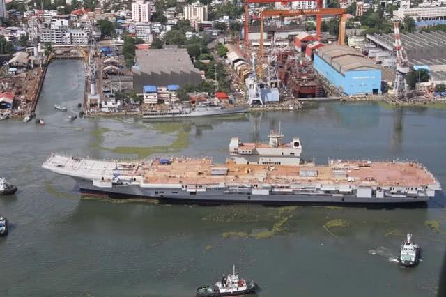 印度首艘国造航母计算机硬件被偷 导致电子设备测试失败
