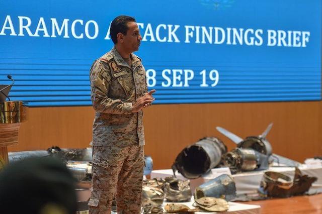 沙特展示伊朗巡航导弹和无人机,蓬佩奥会见王储,伊朗在劫难逃