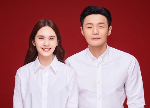 杨丞琳李荣浩晒结婚照正式官宣,网友调侃多吃葡萄以后孩子眼睛大